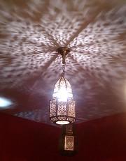 Светильники ручной работы для хамам из Марокко